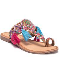 Chinese Laundry - Paradiso Embellished Sandal - Lyst