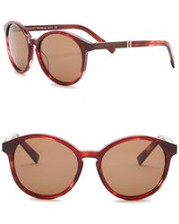 Shwood - Women's Bailey Polarized 53mm Round Sunglasses - Lyst