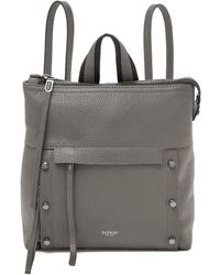Botkier Noho Pebbled Leather Backpack - Gray