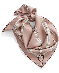 Longchamp Silk Scarf - Multicolor