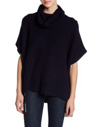 Lucky Brand - Cowl Neck Poncho Jumper - Lyst
