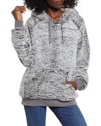 Thread & Supply Wubby Fleece Hoodie - Gray