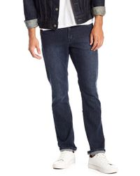 Volcom - Vorta Rigid Slim Fit Straight Leg Jeans - Lyst