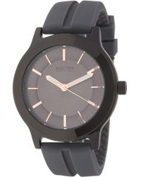 Kenneth Cole Reaction Men's Gray 3 Hand Watch, 46mm - Multicolor