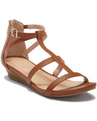 Kenneth Cole Reaction - Great Plane Wedge Sandal - Lyst