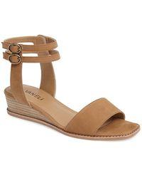 Vaneli - Jarita Ankle Strap Sandal - Lyst