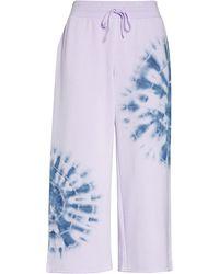 BP. All Weekend Crop Pants - Purple