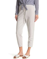 James Perse Solid Sweatpants - Gray