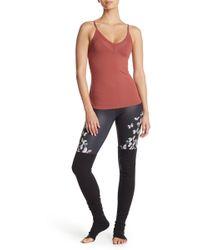 Alo Yoga - Goddess Living Floral Print Leggings - Lyst