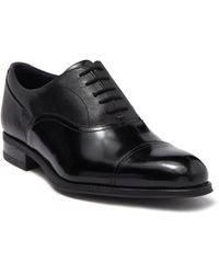 Ted Baker High Shine Leather Brogue - Black