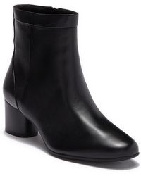 Clarks - Un Cosmo Up Leather Bootie - Wide Width Available - Lyst