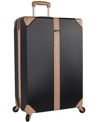 "Vince Camuto Laura 28"" Expandable Spinner Suitcase - Black"