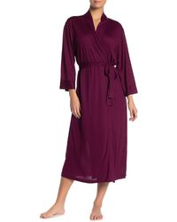 N Natori Congo Belted Robe - Purple