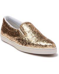 Tomas Maier - Scarpa Glitter Slip-on Sneaker - Lyst