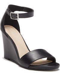 d744741d1bb Madden Girl - Wendls Ankle Strap Wedge Sandal - Lyst