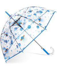 Shedrain Bubble Umbrella - Blue