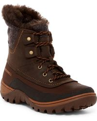 Merrell - Sylvia Waterproof Faux Fur Lined Boot - Lyst