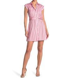 10 Crosby Derek Lam - Cora Stripe Shirt Dress - Lyst