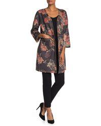 T Tahari Floral Topper Jacket - Multicolour