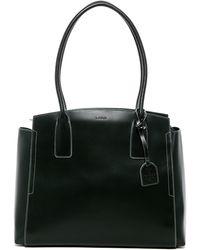 a4f7ac26a4 Lodis - Audrey Zola Rfid Leather Tote Bag - Lyst