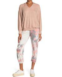 Lush Tie Dye Sweatpants - Pink