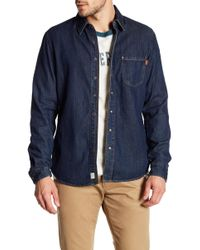 Timberland - Soft Slim Fit Denim Shirt - Lyst