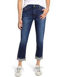 AG Jeans Ex-boyfriend Relaxed Slim Jeans - Blue