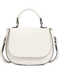 Chelsea28 - Kyle Faux Leather Saddle Bag - Lyst