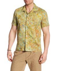 JEFF - Harbor Pineapple Print Regular Fit Shirt - Lyst