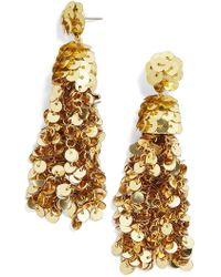 BaubleBar - Sequined Tassel Drop Earrings - Lyst