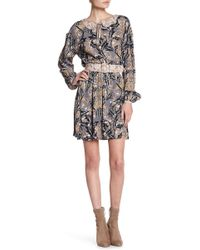 Juicy Couture | Winter Palace Floral Print Dress | Lyst