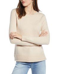 Halogen - Crewneck Sweater - Lyst