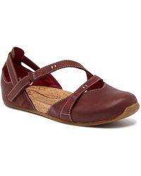 Ahnu - Tullia Ii Mary Jane Leather Flat - Lyst
