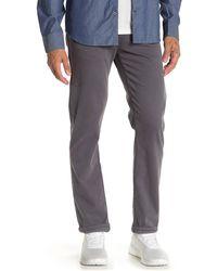 "Fidelity Jimmy Slim Straight Leg Pants - 34"" Inseam - Gray"