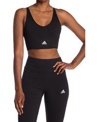 adidas Seamless Sports Bra - Black