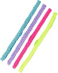 Berry - Braided Headband - Pack Of 4 - Lyst