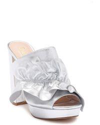 Shellys London - Delphine Platform Leather Mule - Lyst