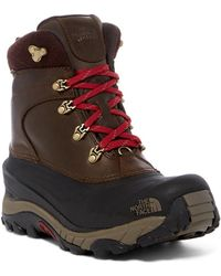 The North Face Chilkat Ii Luxe Waterproof Boot - Brown