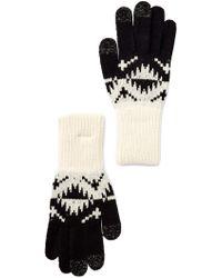 Pendleton   Jacquard Texting Glove   Lyst