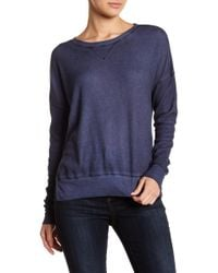 Sweet Romeo - Baby Thermal Seamed Pullover Top - Lyst