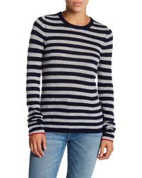 FREE CITY - Fisherman Strike Cashmere Crew Neck Sweater - Lyst