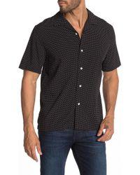 Rag & Bone - Avery Short Sleeve Boxy Fit Shirt - Lyst