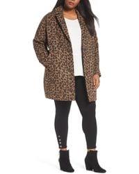 Halogen - Wool Blend Coat (plus Size) - Lyst