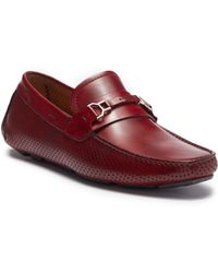 Magnanni - Cornell Mid Leather Driver - Lyst