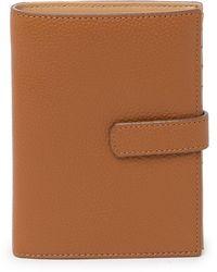 Nordstrom Lauren Leather Bi-fold Wallet - Brown