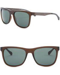 BOSS - 55mm Square Sunglasses - Lyst