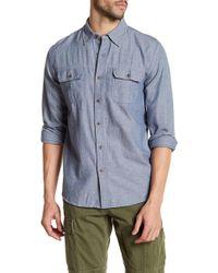 Joe Fresh - Denim Button Down Standard Fit Shirt - Lyst