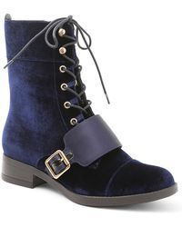 Kensie - Carlynn Lace-up Boot - Lyst