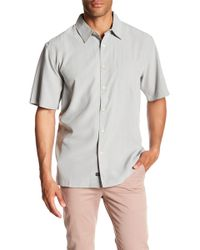 Quiksilver - Cane Island Short Sleeve Comfort Fit Shirt - Lyst