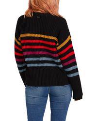 Volcom Move On Up Stripe Sweater - Black